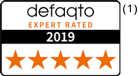 Defaqto Five Star rated