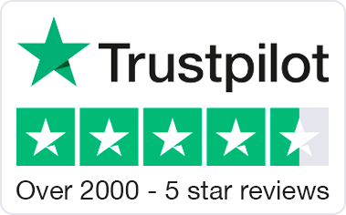 Trust Pilot - 4.5 Star Rated